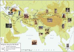 Islam and Buddhism along the Silk Road